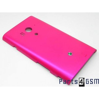 Sony Xperia Acro S LT26W Battery Cover Pink 1266-5401