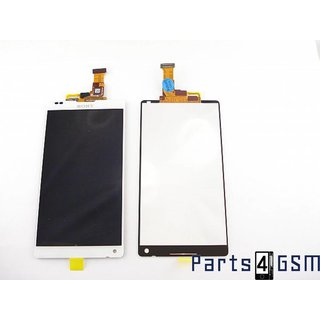 Sony Xperia ZL LCD Display + Touchscreen Display White