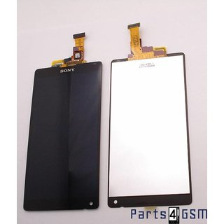 Sony Xperia ZL Lcd Display + Touchscreen Display Zwart 1246-4789
