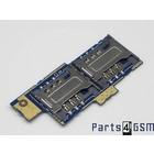 Sony Xperia E Dual C1605 Simkaartlezer Connector Board A/8CS-58570-0001