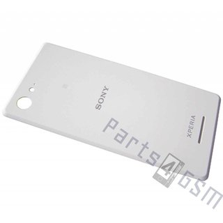 Sony Xperia E3 Battery Cover, White, A/405-59080-0001