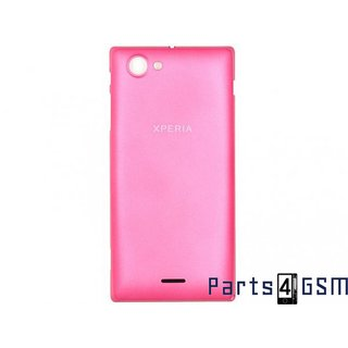 Sony Xperia J ST26i Battery Cover Pink 1266-4450