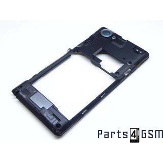 Sony Xperia L C2105 Middenbehuizing Zwart 2512SA7701W