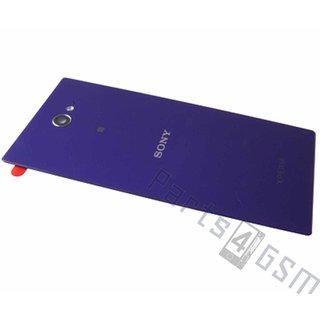Sony Xperia M2 dual D2302 Accudeksel, Paars, 78P7110003N