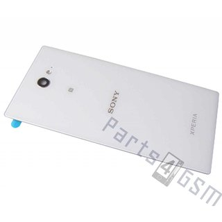 Sony Xperia M2 dual D2302 Battery Cover, White, 78P7110002N