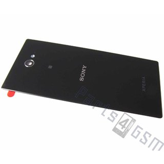 Sony Xperia M2 dual D2302 Battery Cover, Black, 78P7110001N