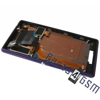 Sony Xperia M2 dual D2302 Lcd Display Module, Paars, 78P7120004N