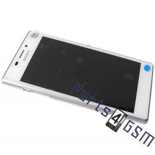 Sony Xperia M2 dual D2302 LCD Display Module, White, 78P7120006N