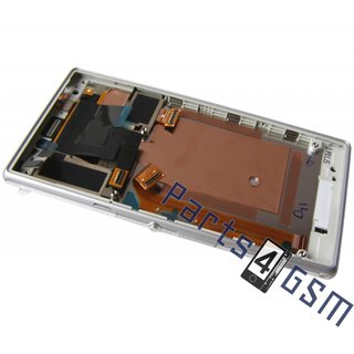 Sony Xperia M2 dual D2302 Lcd Display Module, Wit, 78P7120006N