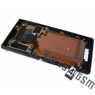 Sony Xperia M2 dual D2302 Lcd Display Module, Zwart, 78P7120002N