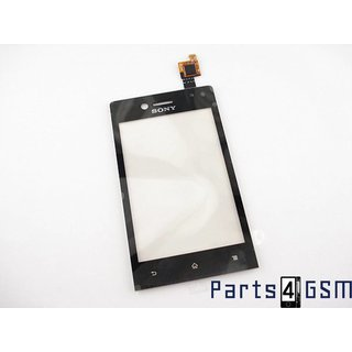 Sony Xperia Miro (ST23i) Touchscreen Display Zwart