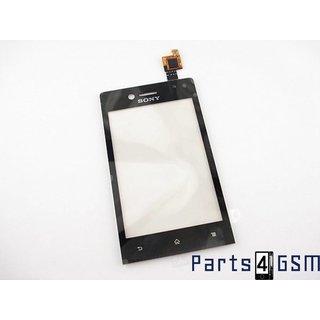 Sony Xperia Miro (ST23i) Touchscreen Display Zwart