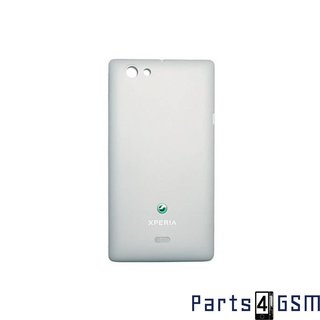 Sony Xperia Miro ST23i Battery Cover White 1265-2260