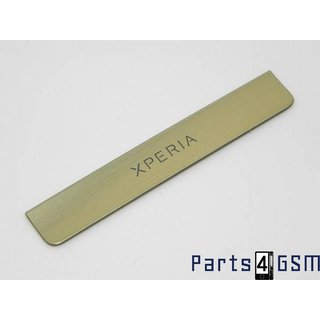 Sony Xperia Miro ST23i Deco Cover Goud 1264-3820