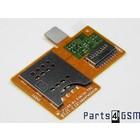 Sony Xperia Miro ST23i MicroSD + SIM Card Reader Connector Flex 312AFM26C0D