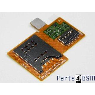 Sony Xperia Miro ST23i MicroSD + Simkaartlezer Connector Flex 312AFM26C0D