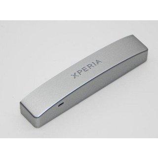 Sony Xperia P LT22i Bottom Cover Silver 1254-7028
