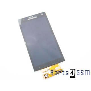 Sony Xperia S (LT26i) Lcd Display + Touchscreen Zwart