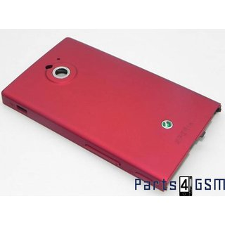 Sony Xperia Sola MT27i Battery Cover Red 1256-9365