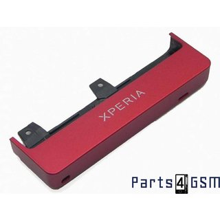 Sony Xperia Sola MT27i Bottom Cover Red 1257-8026