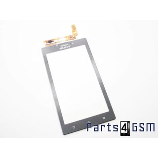 Sony Xperia Sola MT27i Touchscreen Display Zwart