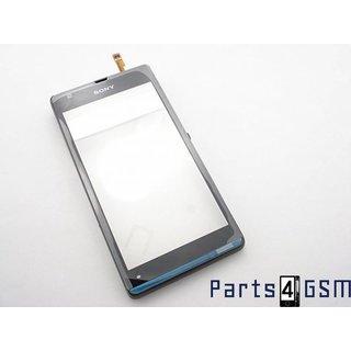 Sony Xperia SP C5303 Touchscreen Display + Frame Zwart 1271-9433