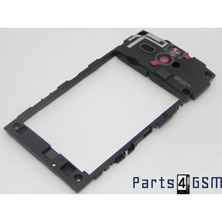 Sony Xperia U ST25i Middle Cover Black 1252-1563