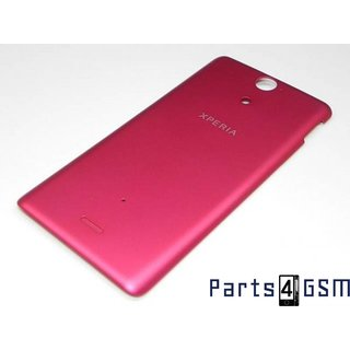 Sony Xperia V LT25i Battery Cover Pink