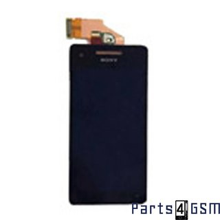Sony Xperia V LT25i LCD Display + Touchscreen Black