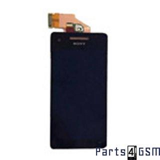 Sony Xperia V LT25i Lcd Display + Touchscreen Zwart