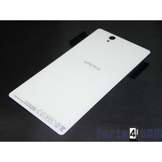 Sony Xperia Z L36H (C6603) Battery Cover, White, 1272-2206