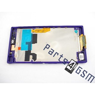 Sony Xperia Z Ultra Lcd Display Module, Paars, 1276-8822