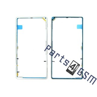 Sony Xperia Z1 (L39H C6903) Middle Cover, White, 1273-9702