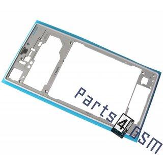 Sony Xperia Z1 (L39H C6903) Middenbehuizing, Wit, 1273-9712