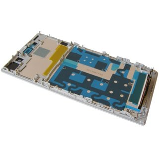 Sony Xperia Z1 C6902, C6903, C6906 LCD Display + Touchscreen + Frame White 1276-5215