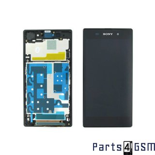 Sony Xperia Z1 C6902, C6903, C6906 LCD Display + Touchscreen + Frame Black 1276-5214