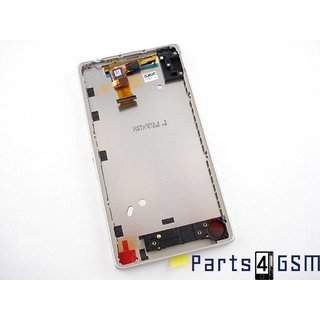 Sony Xperia ZL Lcd Display Module, Wit, 1269-2880