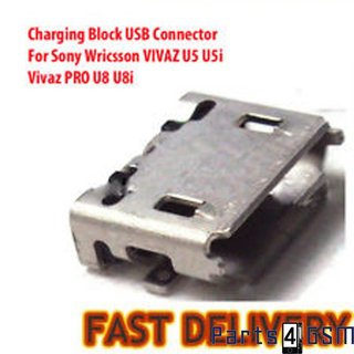 Sony Ericsson Vivaz Pro U8 Connector USB Port charging Jack