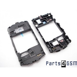 Sony Ericsson Live with Walkman WT19i Middenbehuizing Zwart 1250-4663