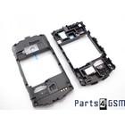 SonyEricsson WT19i Mid Cover Black 1250-5896