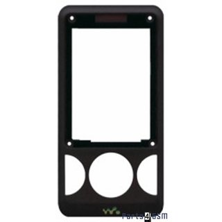 Sony Ericsson W205 Frontcover Zwart