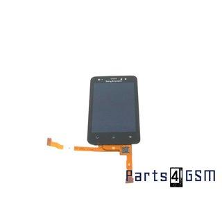 Sony Ericsson Xperia Active (ST17i) Intern Beeldscherm + Touchpanel Glas, Buitenvenster Raampje Zwart 1247-8825