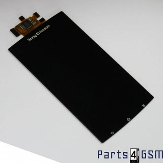 Sony Ericsson Xperia Arc LT15i,Arc S LT18i Intern Beeldscherm + Touchpanel Glas, Buitenvenster Raampje 1242-9840 Zwart