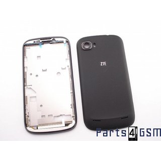 ZTE Grand X Frame Chassis Display + Battery Cover Black