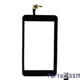 ZTE V9 Touchscreen incl. IC + Frame Zwart