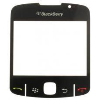BlackBerry Curve 8520 LCD Displayglas Zwart