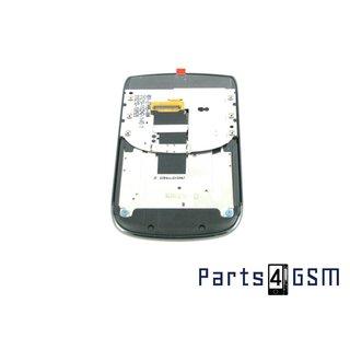 BlackBerry Torch 9800 Intern Beeldscherm + Touchpanel Glas, Buitenvenster Raampje + Frame Slide Zwart ASY-27498-0 Zwart