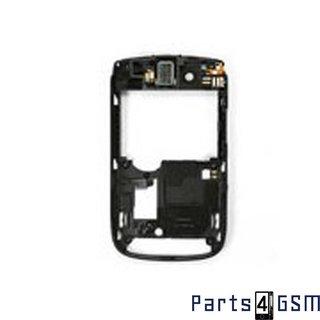 BlackBerry Torch 9800 Middenbehuizing Compleet Zwart0
