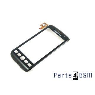 BlackBerry Torch 9860 Touchpanel Glas, Buitenvenster Raampje Display Zwart