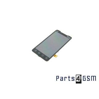 HTC Evo 4G [Sprint logo] Intern Beeldscherm + Touchpanel Glas, Buitenvenster Raampje Zwart